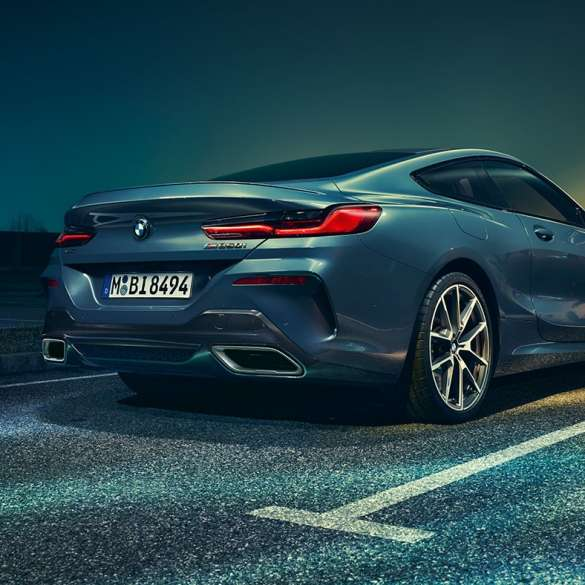 Bmw 8 Series Coupe New Vehicles Bmw Uk