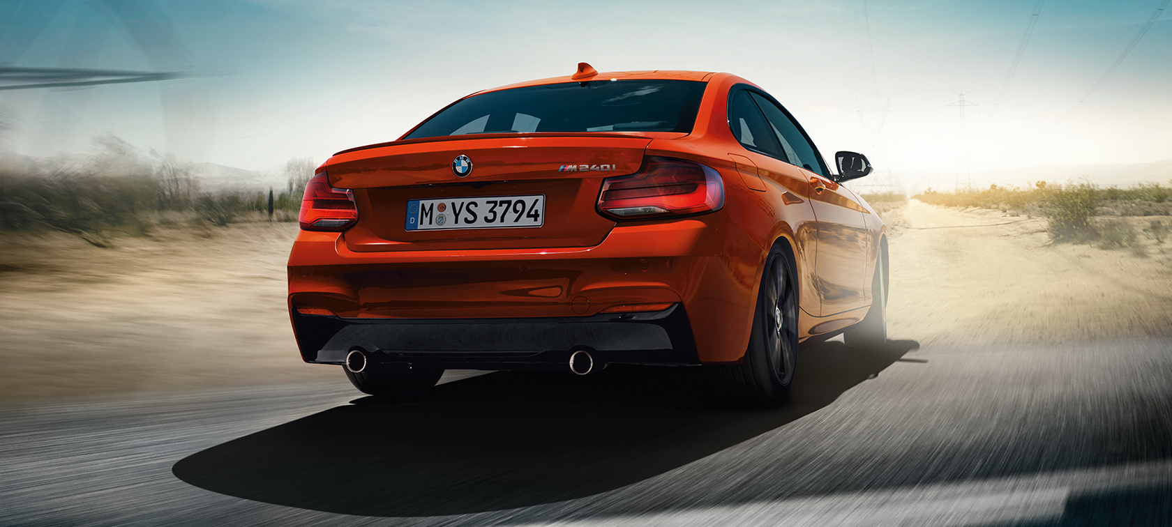 BMW 2 Series Coupé, Driving Dynamics