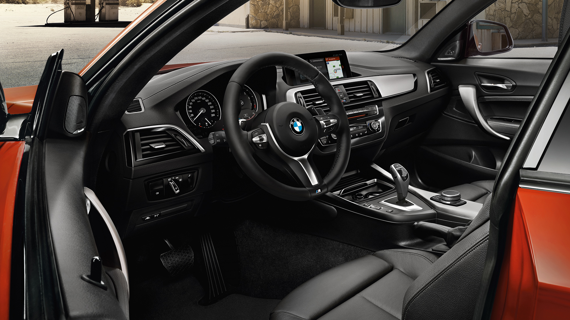 BMW 2 Series Coupé, cockpit
