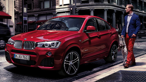 BMW X4 Series unique style