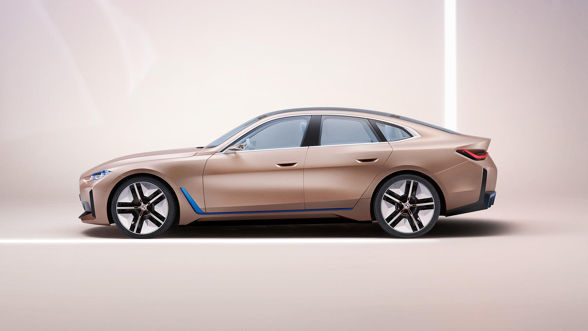 Bmw Concept I4 Concept Cars Bmw Uk