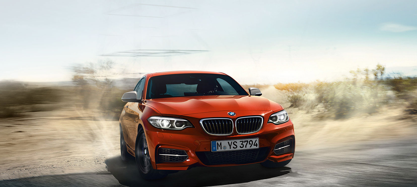 BMW 2 Series Coupé driving